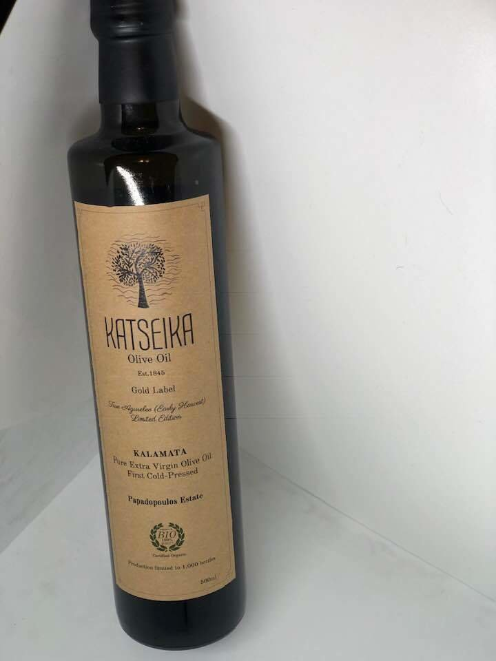 Ultra Premium Olive Oil (Katseika, Greece)