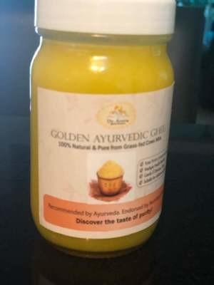 Golden Ayurvedic Ghee (200cc, glass)