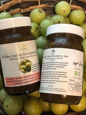 Indian Gooseberry Jam  (glass jar)