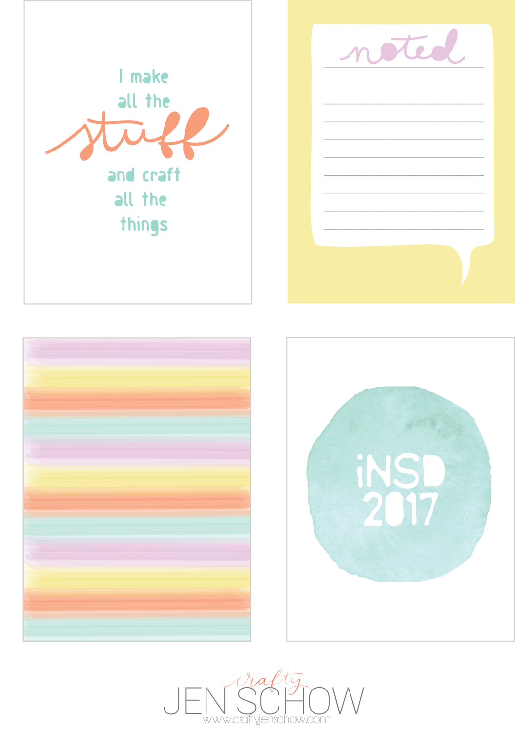iNSD 2017 *Free* Printable Download