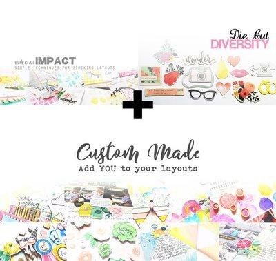 Class Bundle: Make an Impact, Die Cut Diversity, and Custom Made