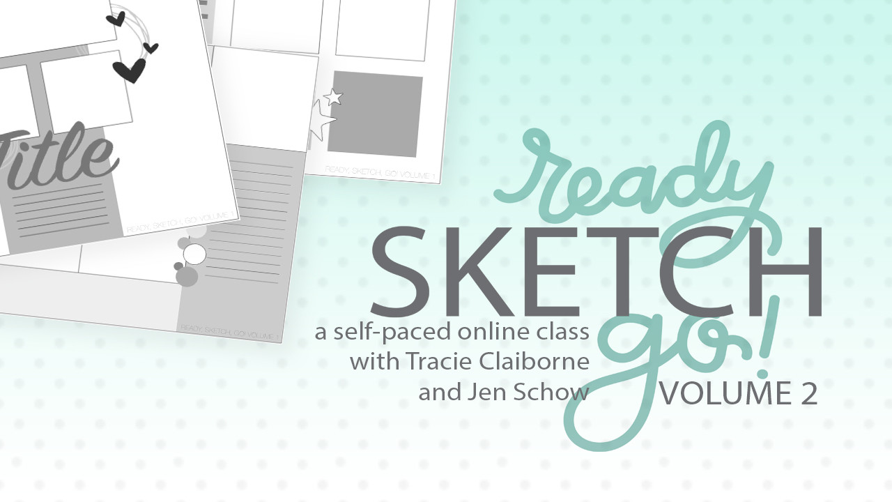 Ready, Sketch, Go! Class - Volume 2