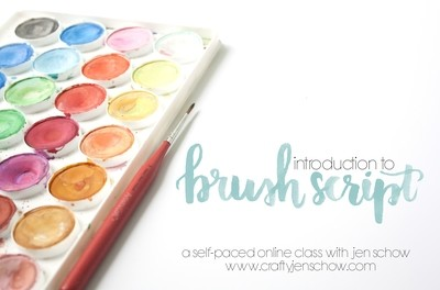 Introduction to Brush Script Class