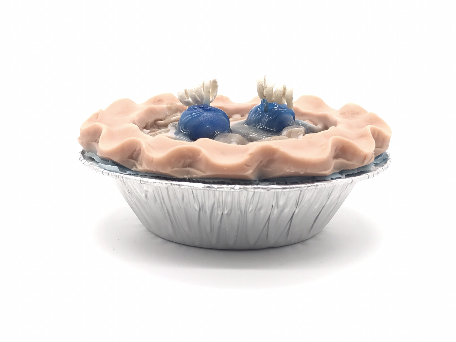"""Blueberry Scented Pie 5"""" Candle"""