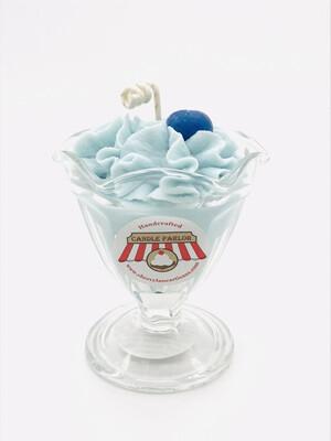 Blueberry Scented Ice Cream Candle, SM Sundae