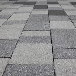 Permeable Concrete Paver Area