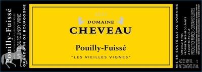2017 Domaine Cheveau Pouilly Fuisse 'Les Vielles Vignes