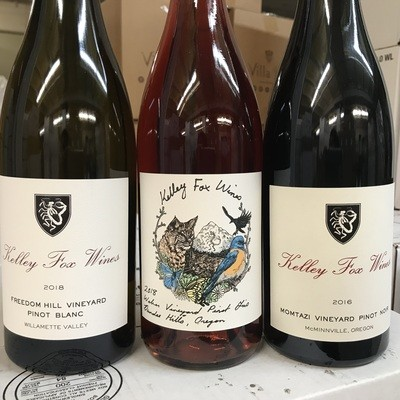 ​2016 Kelley Fox Pinot Noir, Momtazi Vineyard - Willamette Valley, oregon