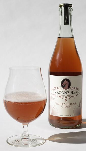 Dragon's Head Rosé Cider - Washington