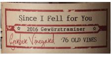 """2016 Ovum """"Since I Fell For You"""" Gewurztraminer - Gerber Vineyard, Rogue Valley, AVA"""