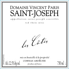​2017 Vincent Paris St Joseph - Northern Rhone, France