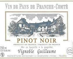 Guillaume Pinot Noir 2017 - Franche -Comte , France