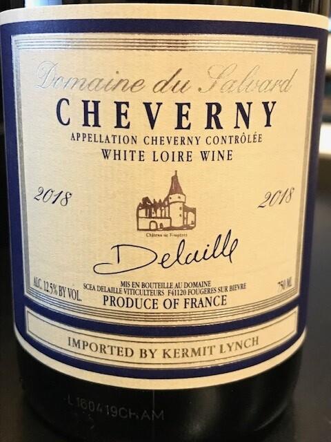 2018 Domaine du Salvard Cheverny Blanc - Cheverny, Loire Valley, France