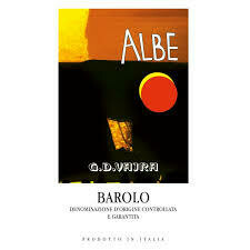 2015 G.D. Vajra Barolo Albe - Piedmont, Italy