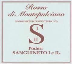 2017 Poderi Sanguineto I & II Rosso di Montepulciano  - Tuscany, Italy