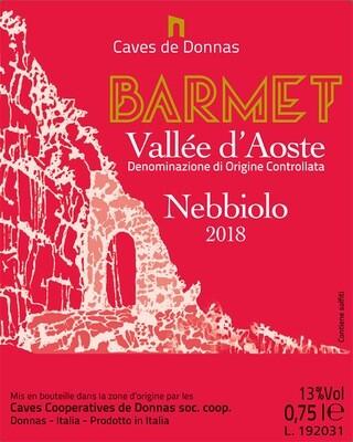 2018 Caves de Donnas Barmet Nebbiolo- Valle d'Aosta, Italy