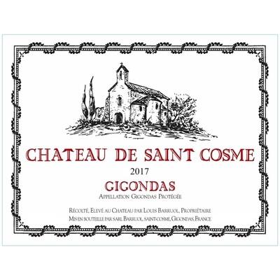 2017 Chateau Saint Cosme Gigondas
