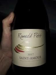 2018 Romuald Petit Saint Amour