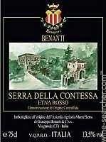 2013 Cantina Benanti 'Serra della Contessa' Etna Rosso