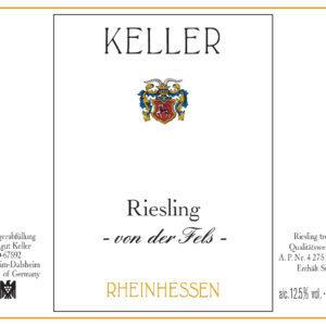 """2016 Keller Riesling """"von der Fels"""""""