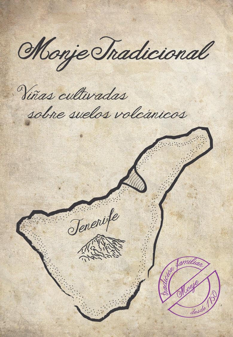 Los Monje 2015 Listan Negro Tradicional - Canary Islands