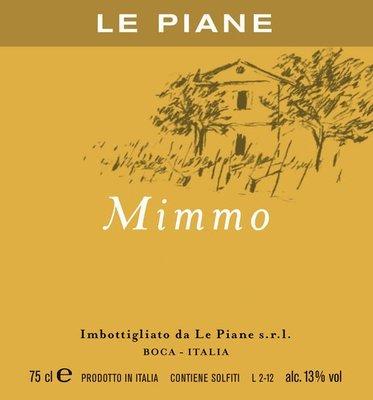 2015 Le Piane Mimmo - Boca, Piemonte - Italy
