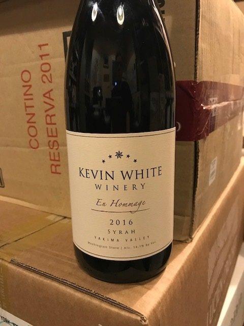 2016 Kevin White En Hommage – Yakima Valley, Washington