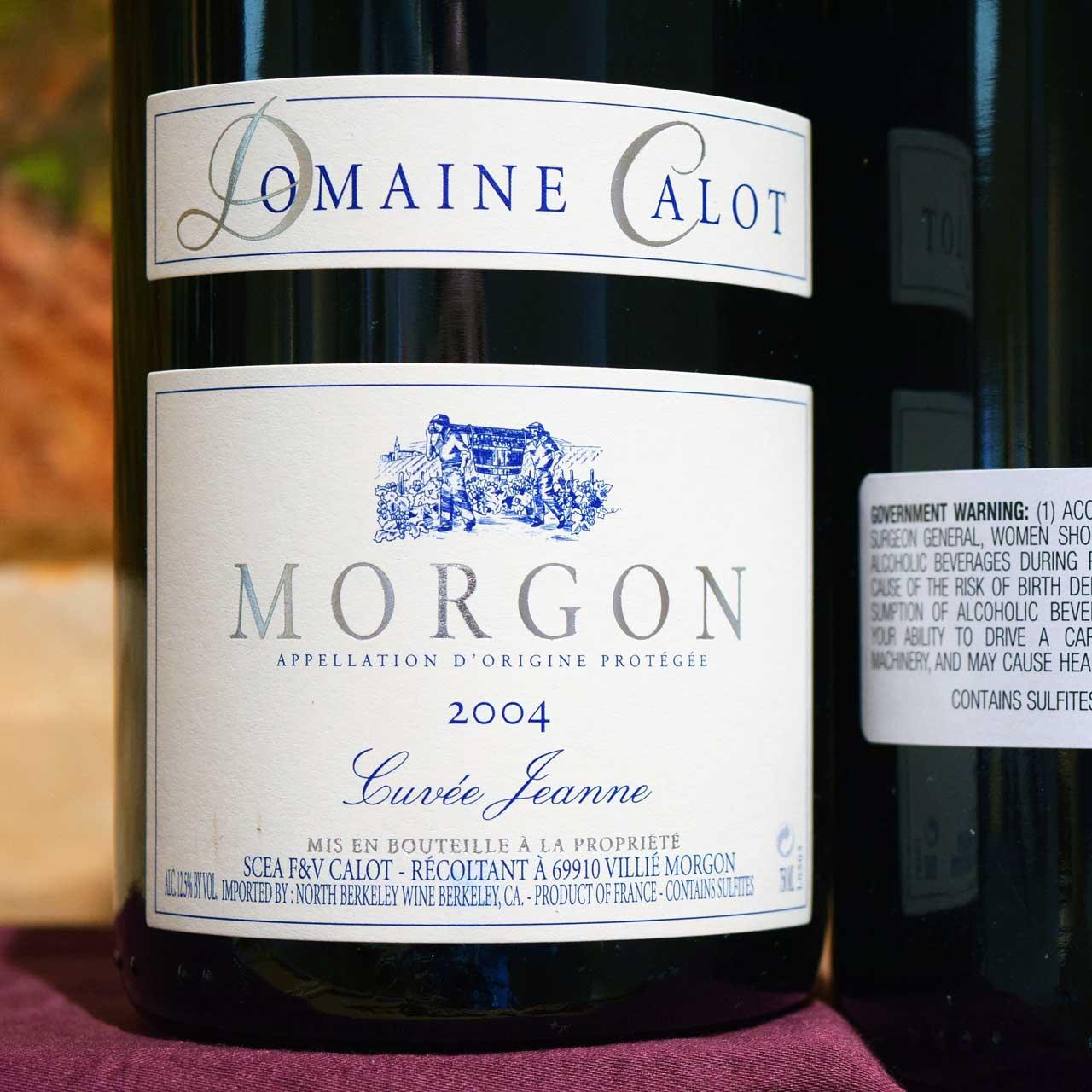 2004 Domaine Calot Morgon 'Cuvée Jeanne'