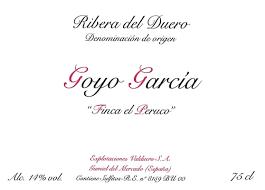 Goyo Garcia 2017 'Joven de Vinas Viejas'  - Ribera del Duero, Spain