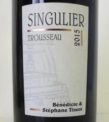Bénédicte & Stéphane Tissot 2015 Arbois Trousseau 'Singulier' - Jura