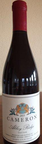 2016 Cameron Pinot Noir, Abbey Ridge -Willamette Valley, Oregon