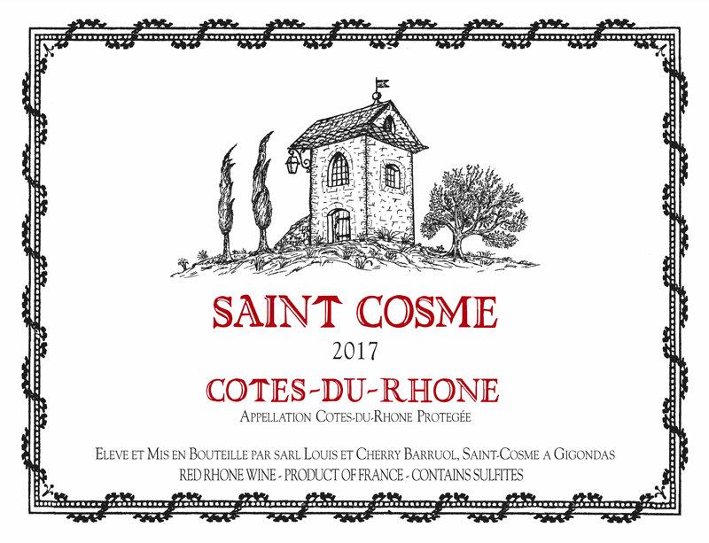 2017 Saint Cosme Cotes du Rhone (Case Only)