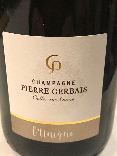 Champagne Pierre Gerbais l'Unique