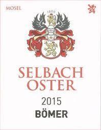 """2016 Selbach -Oster Zeltinger Schlossberg Riesling Trocken """"Bomer"""