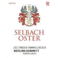 2016 Selbach - Oster Zeltinger Himmelreich Riesling Kabinett Halbtrocken