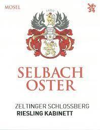 2016 Selbach - Oster Zeltinger Schlossberg Kabinett