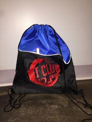 Fit Club 24 - Nylon Cinch Bag