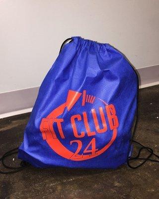Fit Club 24 - Cinch Bag