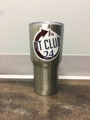 Fit Club 24 - RTIC Tumbler
