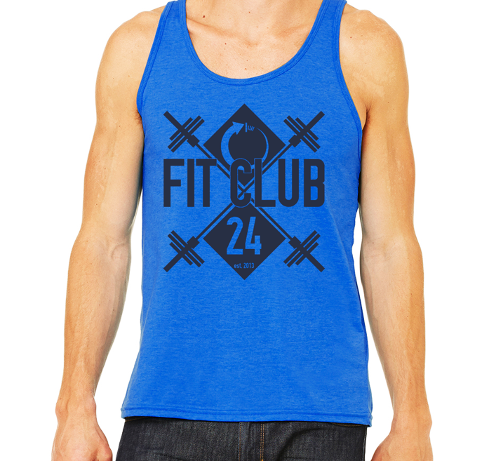 Fit Club 24 - Blue Tank