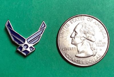 Lapel Pins, US Air Force Insignia