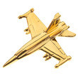 Lapel Pin, F-18 Hornet by Clivedon