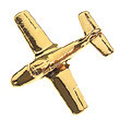 Lapel Pin, T-37 Tweet by Clivedon