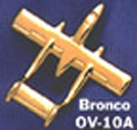 OV-10 Bronco lapel pin by Clivedon