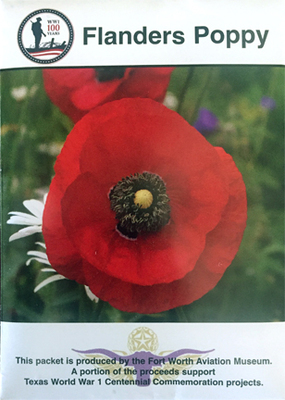 WWI Flanders Poppy Seeds