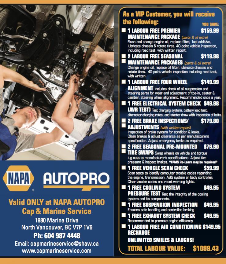 Napa Autopro Cap & Marine Service (North Vancouver) 0700
