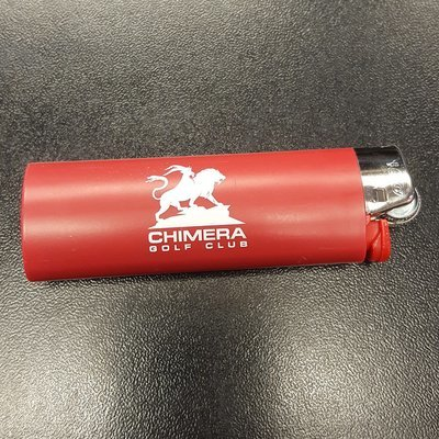 Chimera Red Bic Lighter