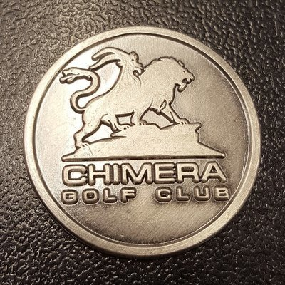 Chimera Logo Ball Mark - Silver