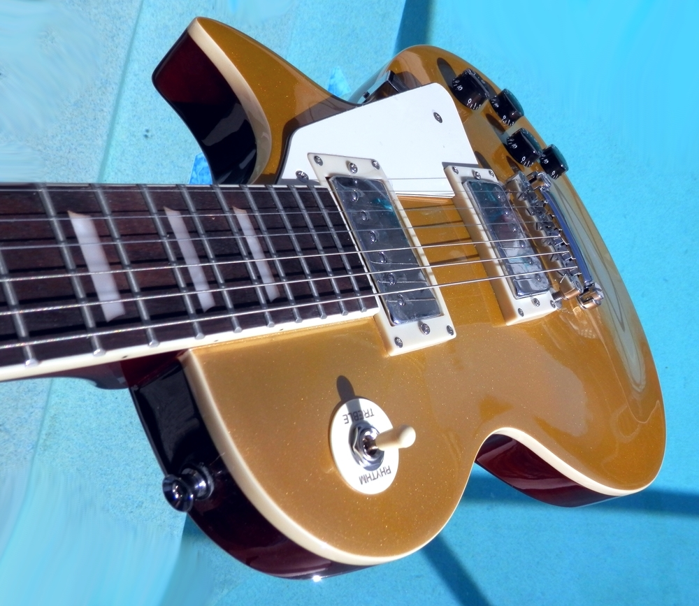 Elite Style Proline Goldltop Electric Guitar LP-GTS Gold Top