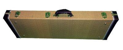 Elite ® Pro Series FC-200 Hardshell Case Tweed look for strat / tele guitars